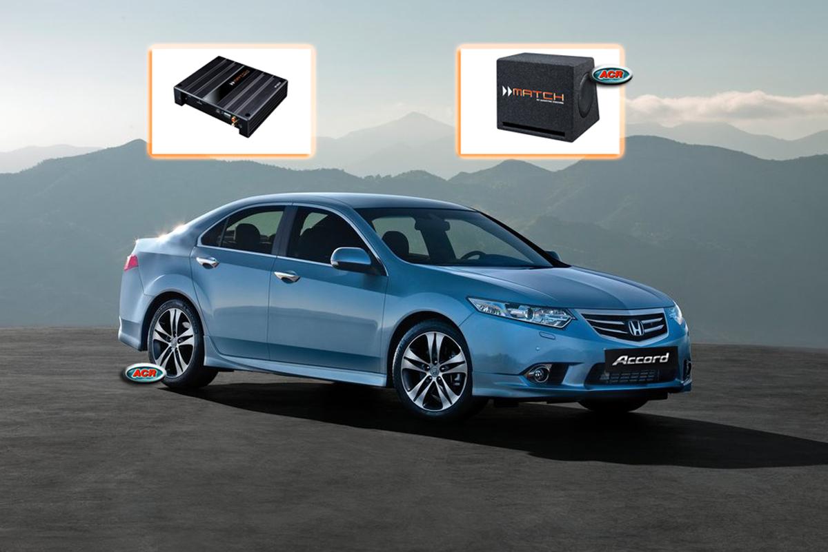 Honda Accord Audio Upgrade Speakers Vervangen Verbeteren Geluid Installatie Hifi Sound Muziek Set