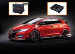 Honda Civic Audio Upgrade Speakers vervangen verbeteren geluid installatie hifi sound muziek