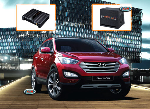 Hyundai Santa Fe Audio Upgrade Speakers vervangen verbeteren geluid installatie hifi sound muziek