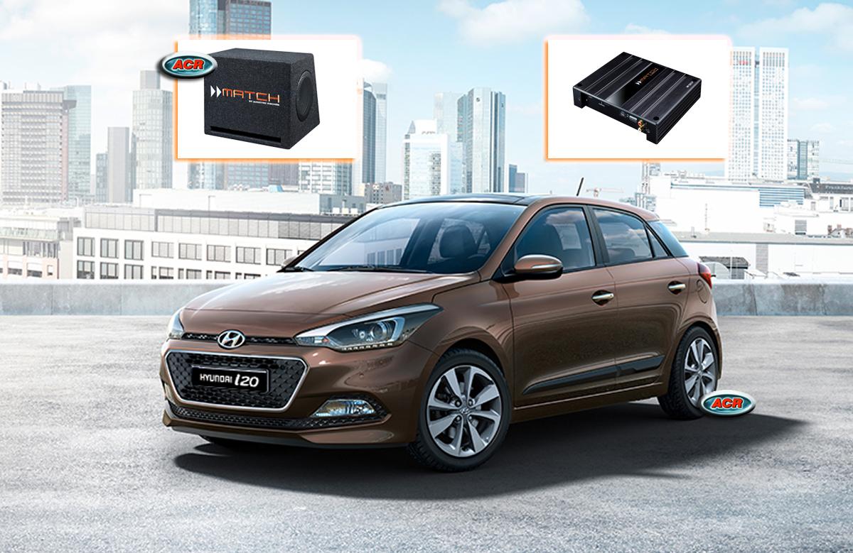Hyundai i20 Audio Upgrade Speakers vervangen verbeteren geluid installatie hifi sound muziek