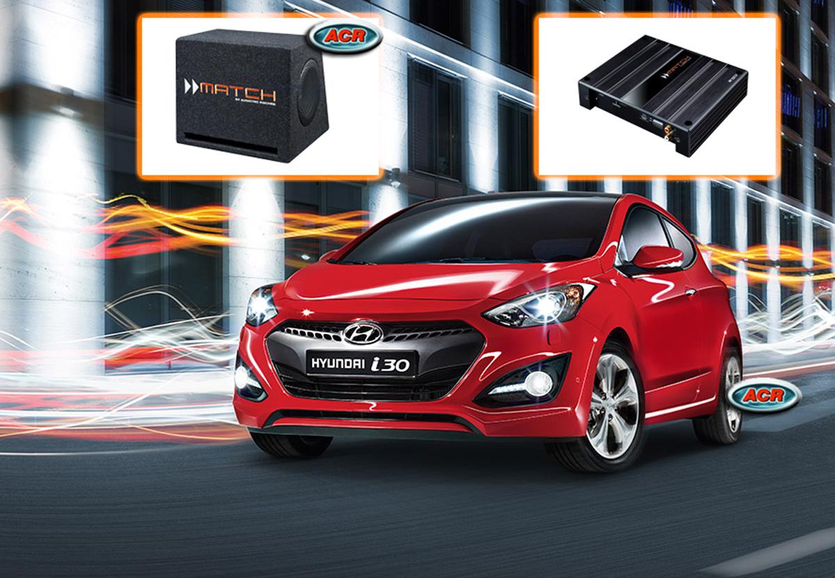 Hyundai i30 Audio Upgrade Speakers vervangen verbeteren geluid installatie hifi sound muziek
