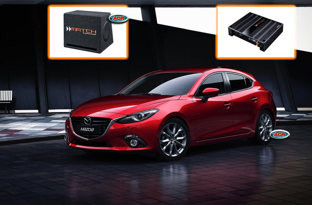 Mazda 3 BM-BL Audio Upgrade Speakers Vervangen Verbeteren Geluid Installatie Hifi Sound Muziek Set
