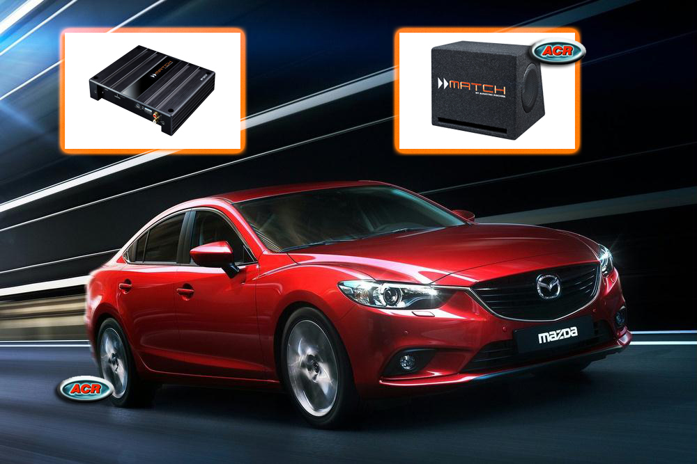 Mazda 6 Audio Upgrade Speakers vervangen verbeteren geluid installatie hifi sound muziek