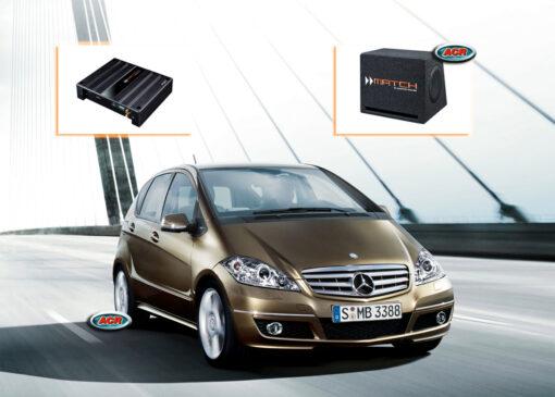 Mercedes A-klasse W169 Audio Upgrade Speakers vervangen verbeteren geluid installatie hifi sound muziek