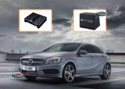 Mercedes A-klasse W176 Audio Upgrade Speakers vervangen verbeteren geluid installatie hifi sound muziek