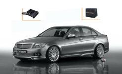 Mercedes C-klasse W204 Audio Upgrade Speakers Vervangen Verbeteren Geluid Installatie Hifi Sound Muziek Set