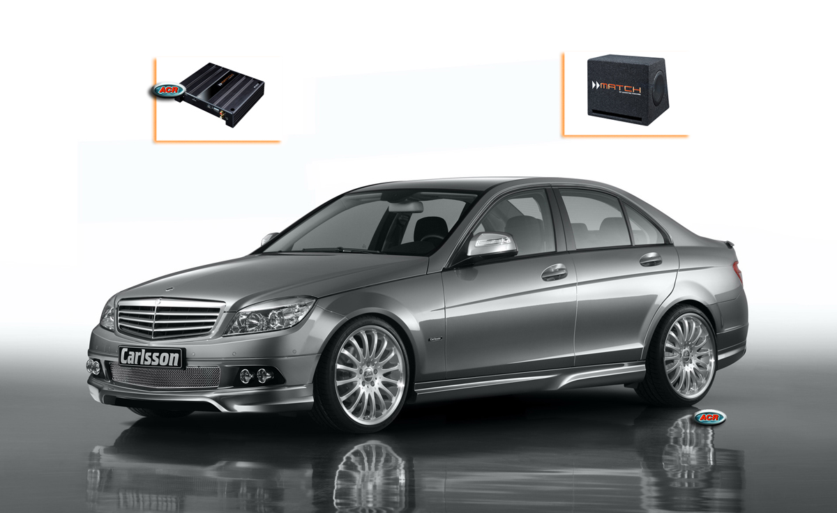 Mercedes c klasse w204 audio upgrade soundsystem 1 acr for Mercedes benz c300 sound system