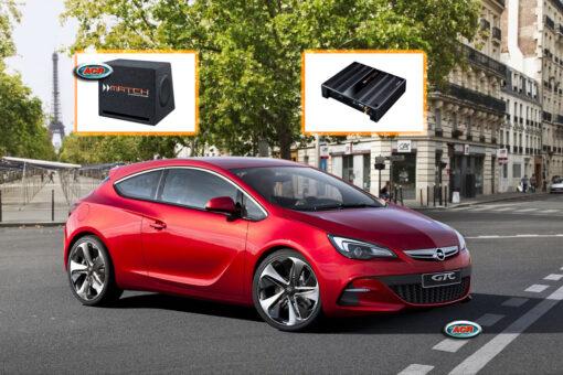 Opel Astra J Audio Upgrade Speakers vervangen verbeteren geluid installatie hifi sound muziek