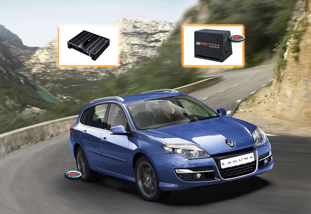 Renault Laguna III X91 Audio Upgrade Speakers Vervangen Verbeteren Geluid Installatie Hifi