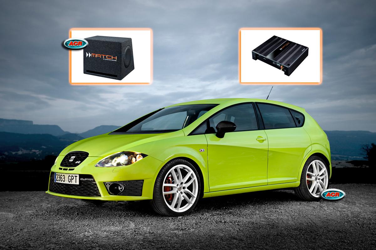 Seat Leon 1P Audio Upgrade Speakers vervangen verbeteren geluid installatie hifi sound muziek