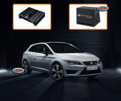Seat Leon 5F Audio Upgrade Speakers vervangen verbeteren geluid installatie hifi sound muziek