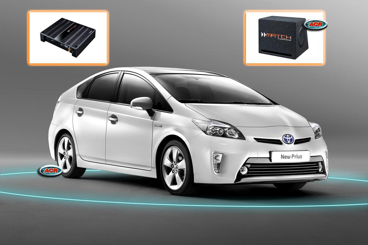 Toyota Prius XW30 Audio Upgrade speakers vervangen verbeteren geluid installatie hifi sound muziek set