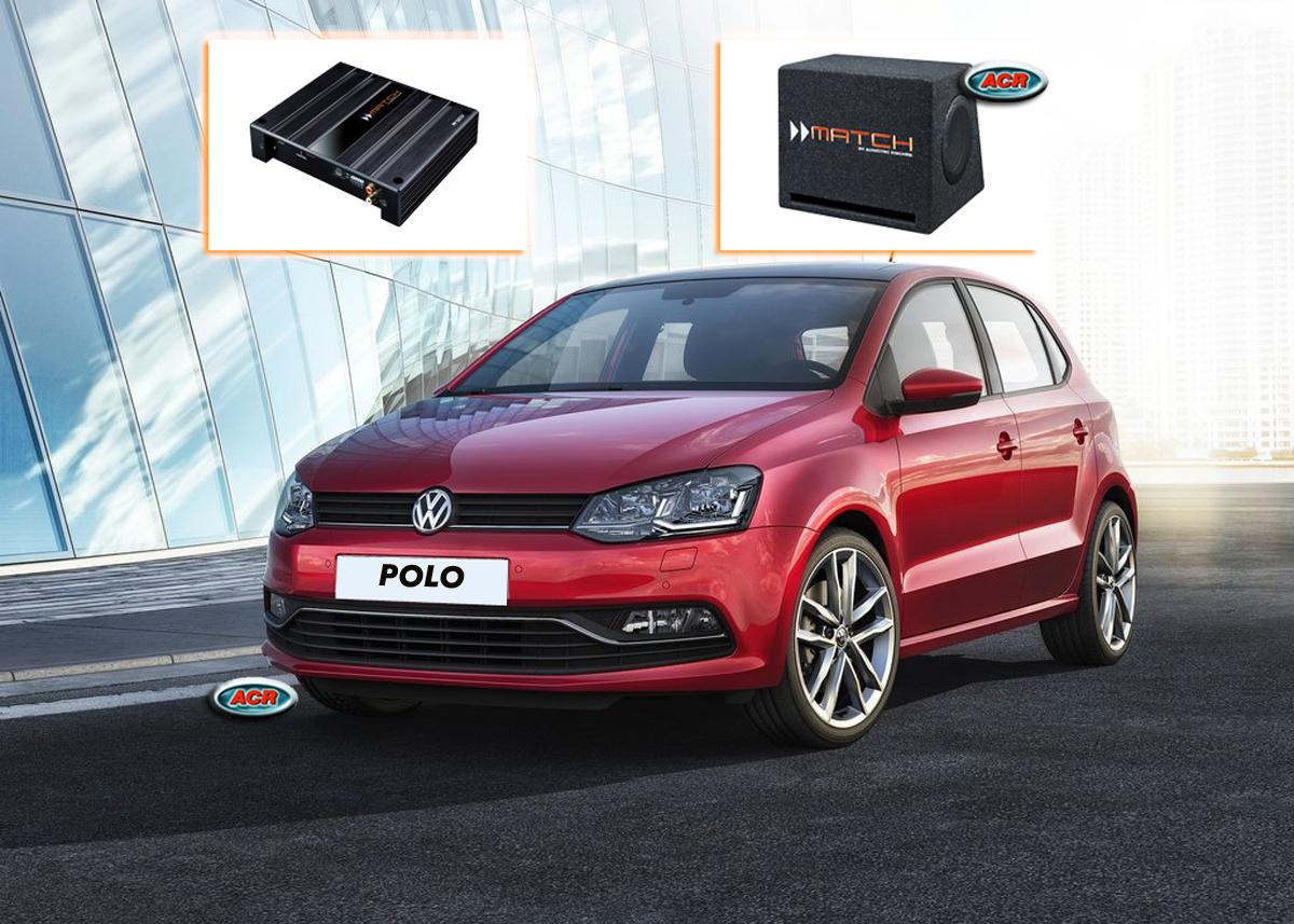 Volkswagen Polo 6R VW Audio Upgrade Speakers Vervangen Verbeteren Geluid Installatie Hifi Sound Muziek Set