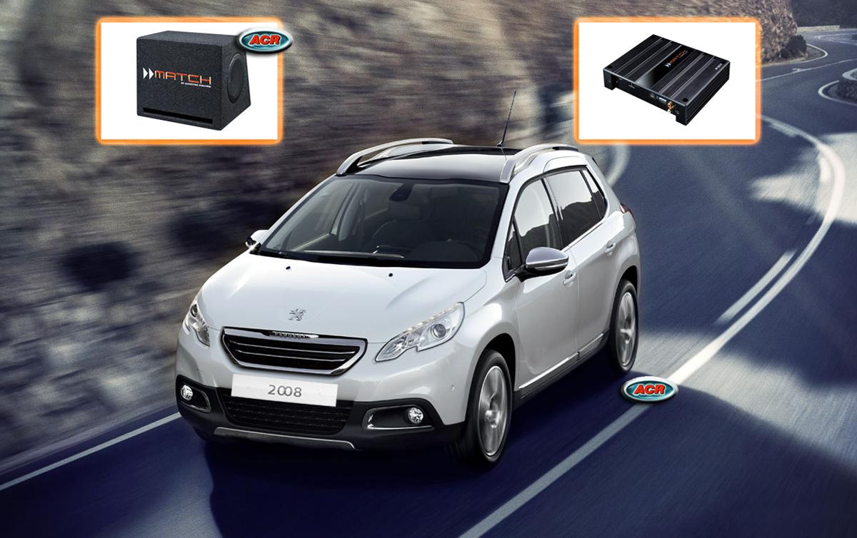 Peugeot 2008 Audio Upgrade speakers vervangen verbeteren geluid installatie hifi sound muziek set