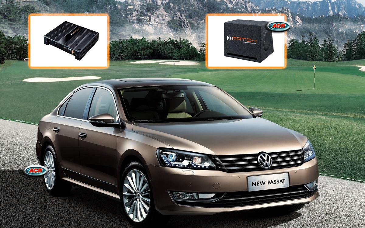 VW Passat B6-B7-3C-CC Audio Upgrade Speakers vervangen verbeteren geluid installatie hifi sound muziek