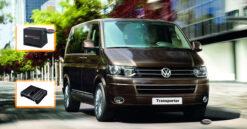 Volkswagen VW Transporter T5 Audio Upgrade Speakers Vervangen Verbeteren Geluid Installatie Hifi Sound Muziek Set