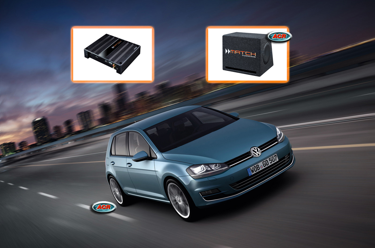 VW Golf 7 Audio Upgrade Speakers vervangen verbeteren geluid installatie hifi sound muziek