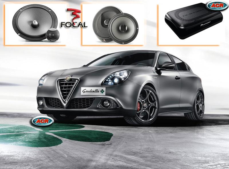 Alfa Romeo Giulietta Audio Upgrade Soundsystem 1-0