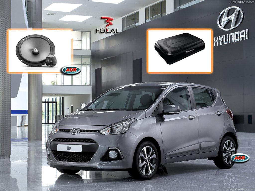 Hyundai i10 Audio Upgrade Soundsystem 1-0