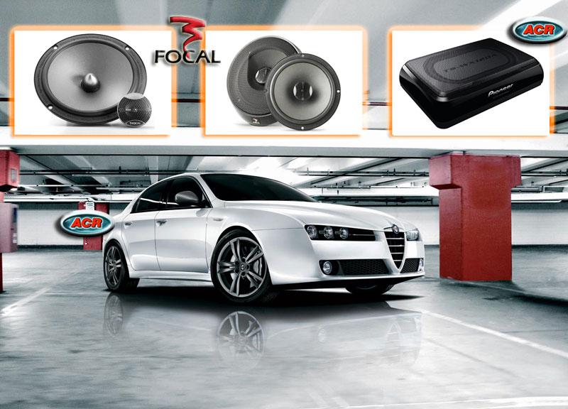 Alfa 159 Audio Upgrade Soundsystem 1-0