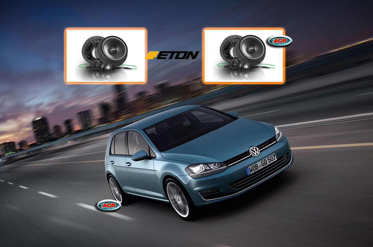 volkswagen golf 7 audio upgrade soundsystem 1 acr. Black Bedroom Furniture Sets. Home Design Ideas