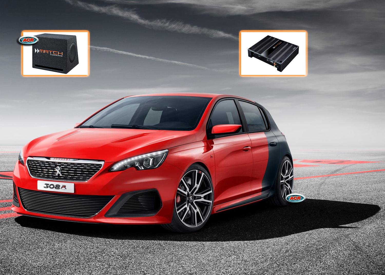 Peugeot 308 Audio Upgrade Soundsystem 6-0