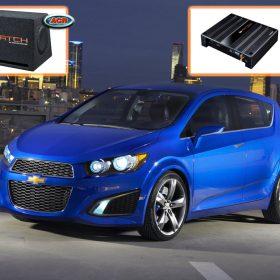 Chevrolet Aveo Audio Upgrade Speakers Hifi installatie