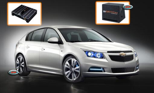 Chevrolet Cruze Audio Upgrade Speakers Set