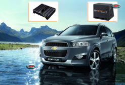 Chevrolet Captiva Audio Upgrade Speakers Muziek installatie