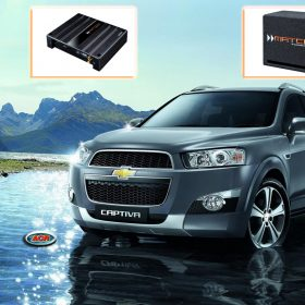 Chevrolet Captiva Audio Upgrade Speakers Muziek installatie