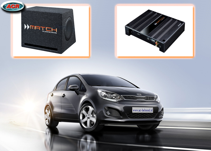 Kia New Rio Audio Upgrade Speakers Muziek Geluid