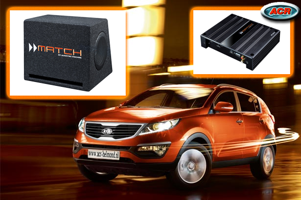 Kia Sportage audio upgrade