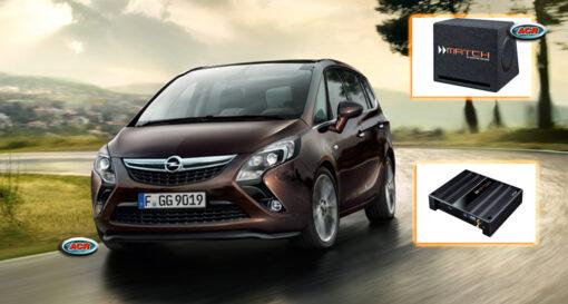 Opel Zafira B - C Audio Upgrade Soundsystem 1-0
