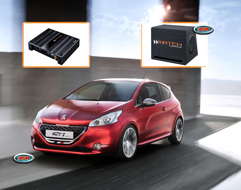 Peugeot 208 Audio Upgrade Speakers vervangen