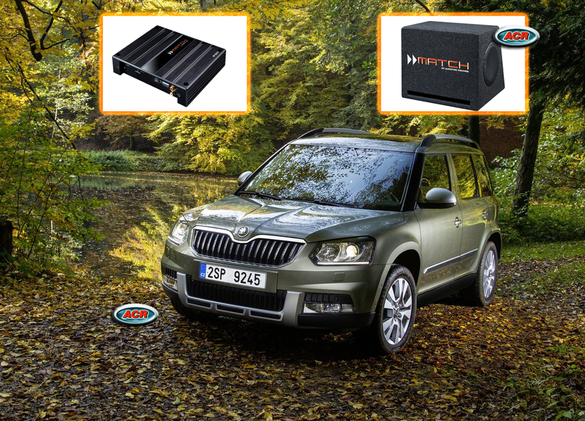 Skoda Yeti Audio Upgrade Soundsystem 1-0