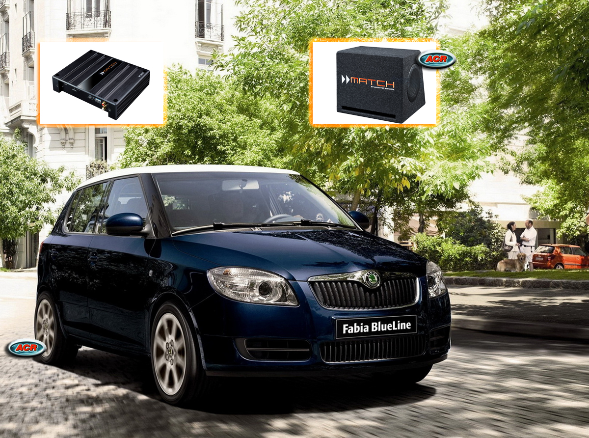 Skoda Fabia AUdio Upgrade Speakers