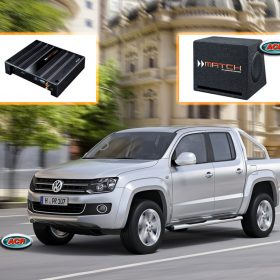 VW Amarok Audio Upgrade Speaker Set
