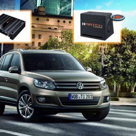 VW Tiguan Audio Upgrade Speakers