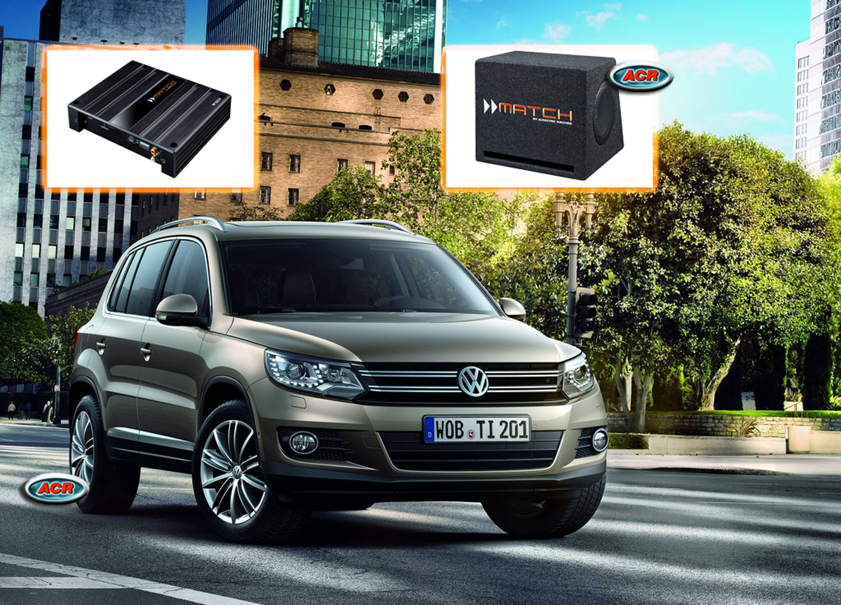VW Tiguan Audio Upgrade Speakers