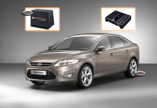 Ford Mondeo MK4 audio upgrade speaker set