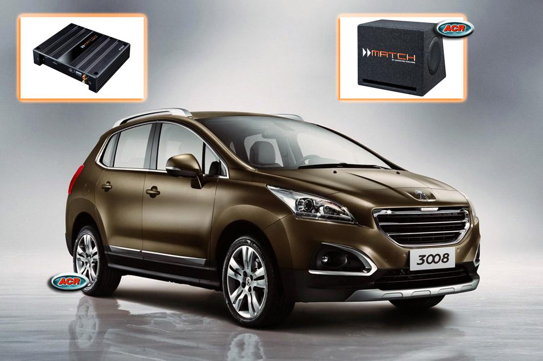 Peugeot 3008 Audio Upgrade Speakers