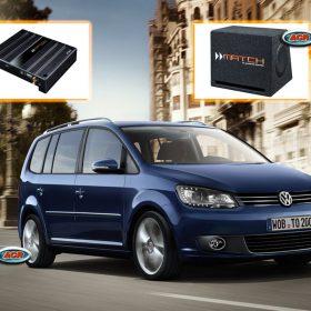 VW Touran Audio Upgrade Speakers Set