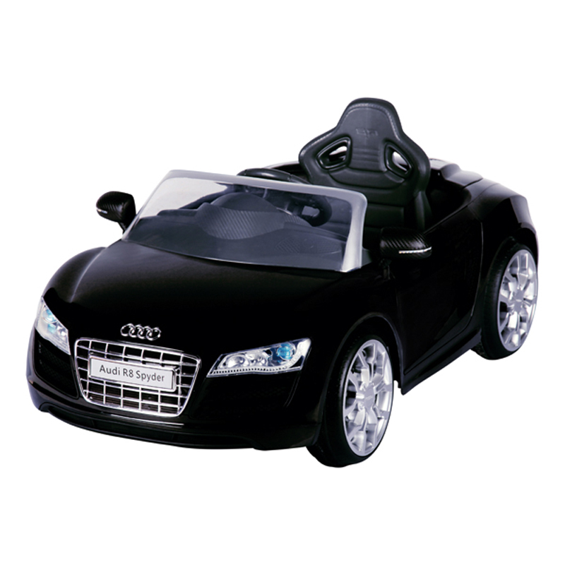 Audi R8 Zwart Electrische auto accu