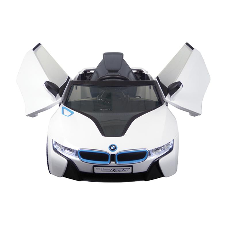 BMW i8 Wit Electrische auto accu