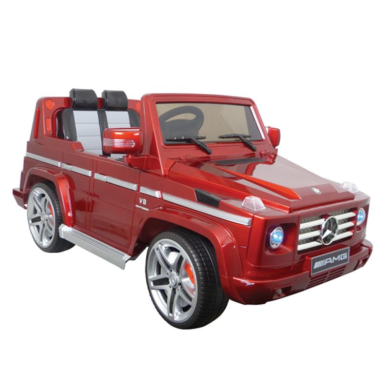Mercedes-Benz G55 Rood Electrische auto accu
