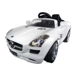 Mercedes-Benz SLS AMG Wit Electrische auto accu