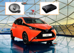 Toyota Aygo Audio Upgrade Speakers vervangen boxen