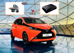 Toyota Aygo 2015 audio upgrade speakers vervangen