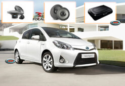 Toyota Yaris Audio Upgrade Speakers Luidsprekers
