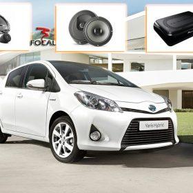 Toyota Yaris Audio Upgrade Speakers Luidsprekers